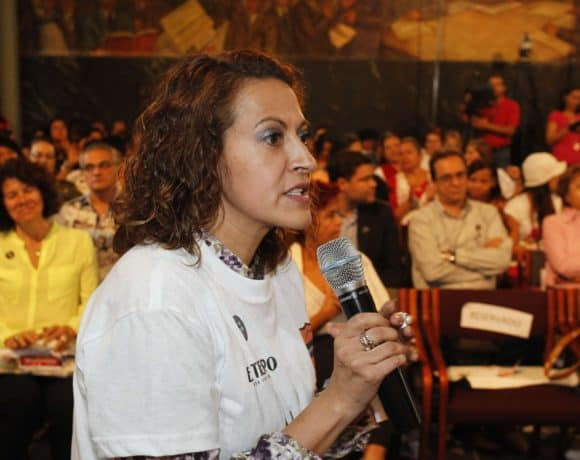 Journalist Jineth Bedoya calls for greater recognition and protection for Colombia's victims
