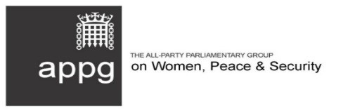APPG on Women, Peace and Security