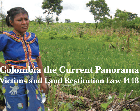 The Current Panorama: Victims and Land Restitution Law 1448