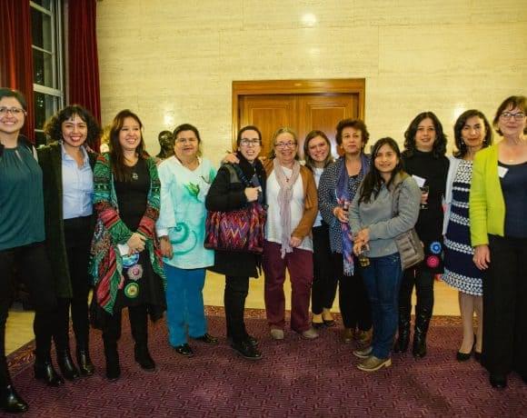 Colombian Women Peace Trailblazers visit London