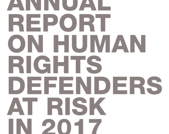 Frontline Defenders 2017 Annual Report