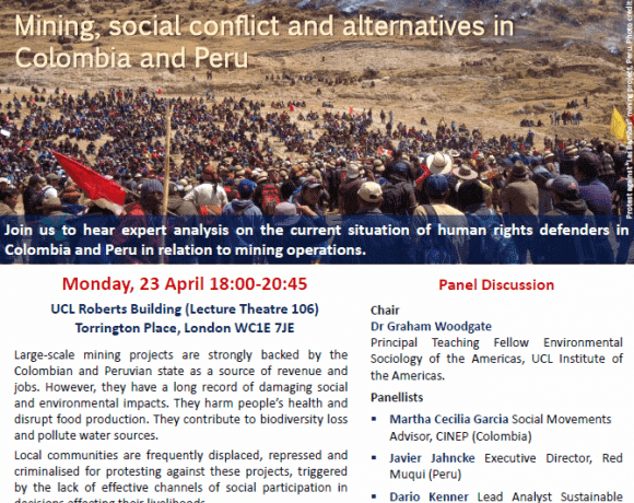Mining, social conflict and alternatives in Colombia and
