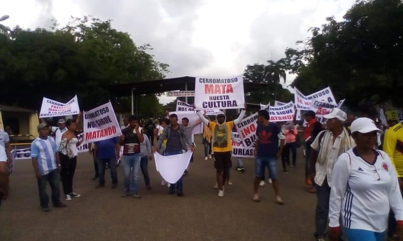 Indigenous Peoples struggle for a dignified life against Giant Nickel Miner South32