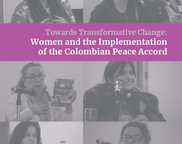 Towards Transformative Change: Women and the Implementation of the Colombian Peace Accord