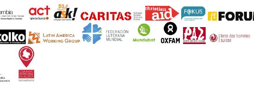 Llamado al Gobierno Colombiano de las Organizaciones de la Sociedad Civil International