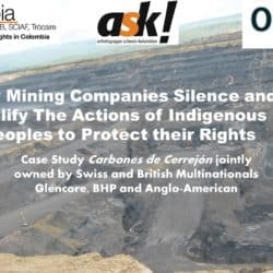 Take Action following event on How Mining Companies Silence Indigenous Peoples
