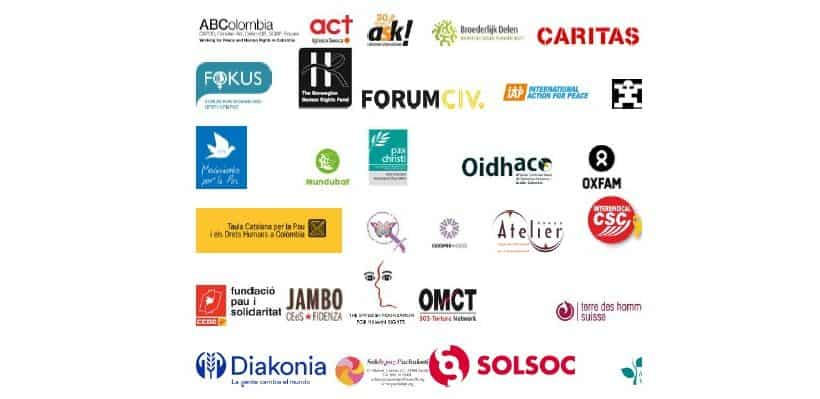International civil society organisations reject the excessive use of firearms and police abuse