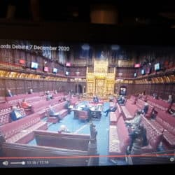 House of Lords Question Actions of the Colombian Government