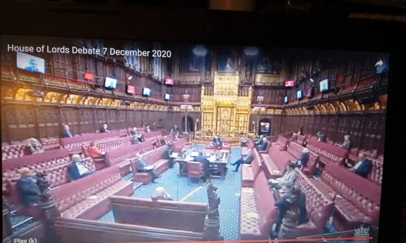 House of Lords Debate on Colombia and the Democratic Clause in the FTA