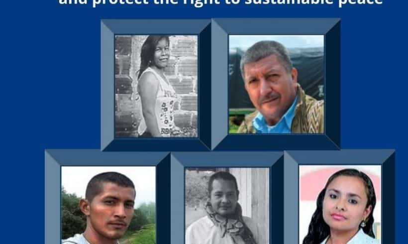 UN Report says Colombia Failing to Protect Human Rights Defenders
