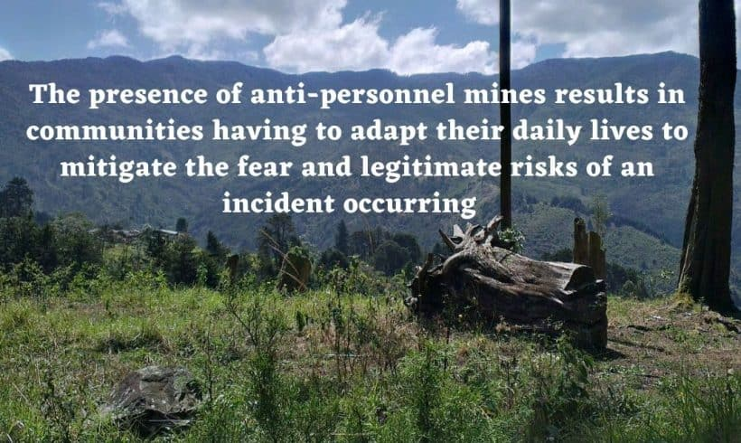 Demining in Colombia must remain a priority
