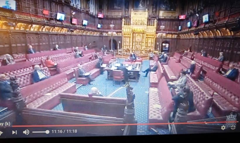 Declaración en el parlamento británico sobre Colombia (Early Day Motion)