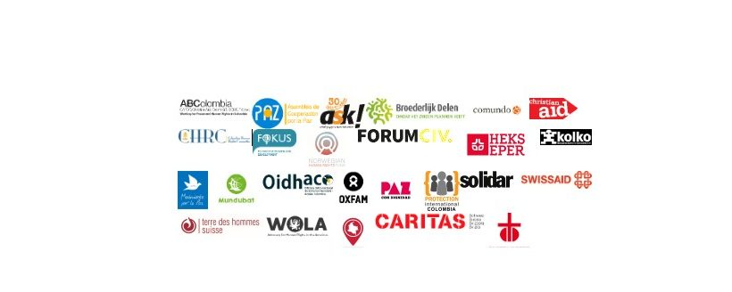 International civil society organisations urge the Colombian Government to guarantee the peaceful exercise of the legitimate right to public assembly and social protest, enshrined in the Colombian Political Constitution and to protect the lives of those who exercise it.